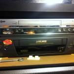 VHS decks * 2