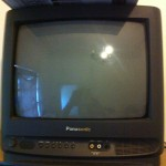 small cathode ray TV